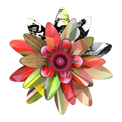 The Marte Flower Wall Art by Miho Unexpected Thing