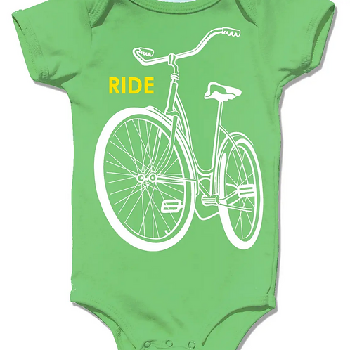 Baby Bike Onsie by Little Lark