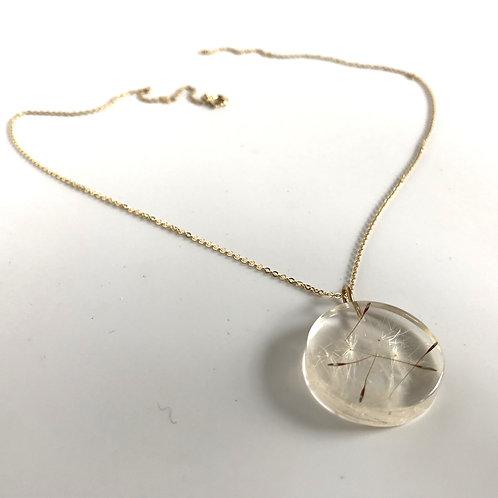 Eco-Resin Medium Full Moon Necklace