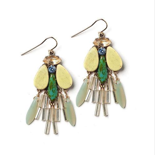 Dragonfly Earrings by Elements Jill Schwartz