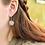 Thumbnail: Conifer Couple Silver Dangle Earrings