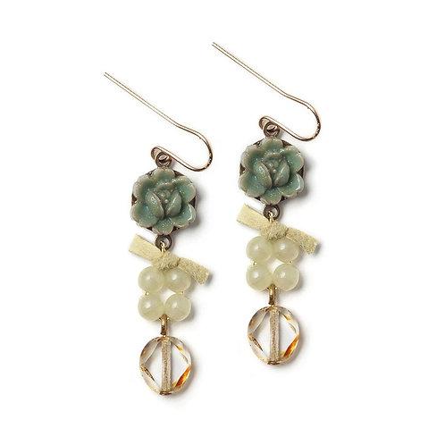 Mineral Grace Earrings by Elements Jill Schwartz