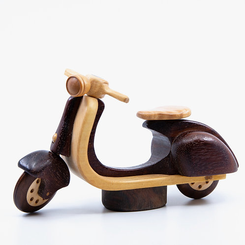 Wood Vespa Scooter by Baldwin Toys