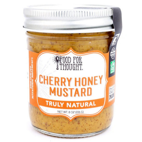 Truly Natural Cherry Honey Mustard by Food for Thought