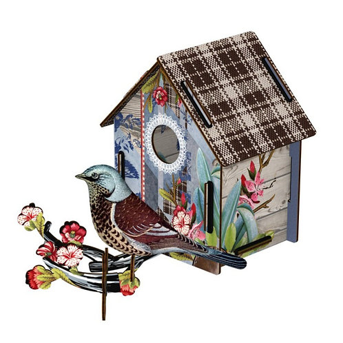 I'm Back Birdhouse by Miho Unexpected Thing