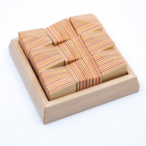 Block Ridge Contemplation Puzzle by Takizawa Plywood Labratory