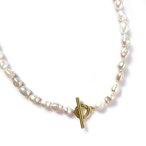 """18"""" Eden Pearl Necklace by Goldeluxe Jewelry"""