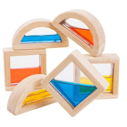 Wooden Water Blocks by PlanToys