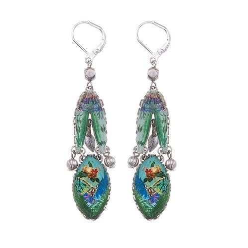 Sweet Leaf Bluebird Earrings by Ayala Bar R1372