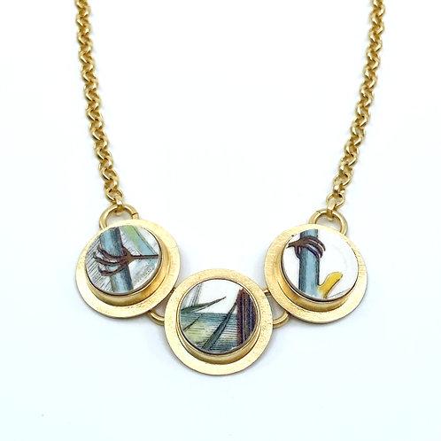 Portmeirion 'Bird Feet' Necklace by Amy Faust