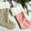 Thumbnail: Natural Linen Christmas Stocking by Madly Wish