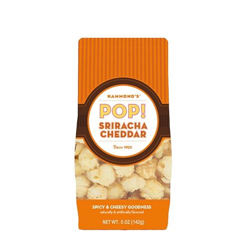 Sriracha Cheddar Popcorn by Hammond's Candies