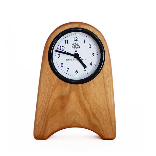 Shaker Rounded Clock by Sabbath Day Woods