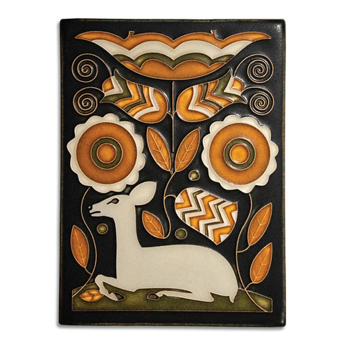 6x8 Vienna Woods Tile by Motawi Tileworks