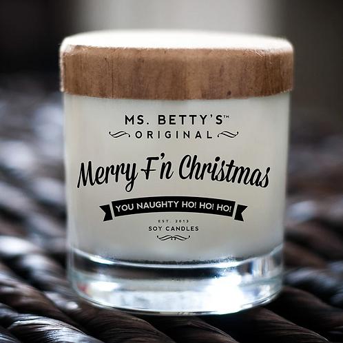 Merry F'n Christmas by Ms. Betty's Original