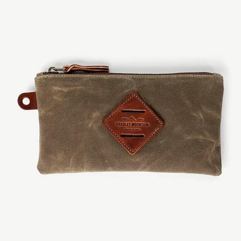 Folio Zip Pouch in Field Tan by Bradley Mountain