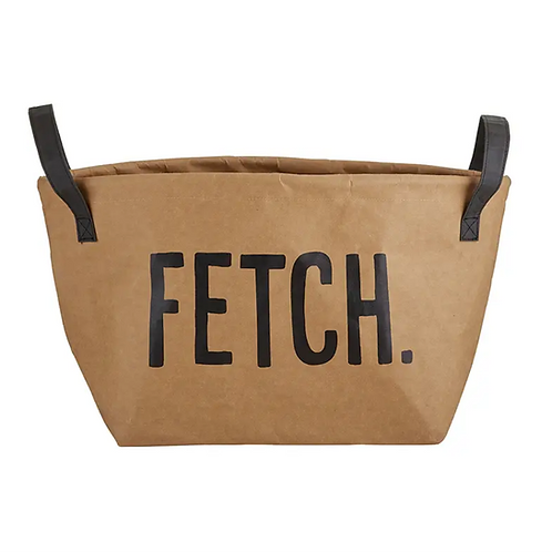'FETCH' Storage Tote by Santa Barbara Design Studio