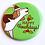 Thumbnail: Happy Howlidays Pin by Tiny Bee