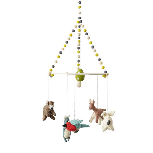 Woodland Creatures Mobile by Pehr