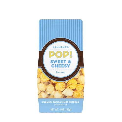 Natural Sweet & Cheesy Popcorn by Hammond's Candies