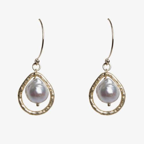 Akoya Pearl Madison Earrings by Tracy Arrington