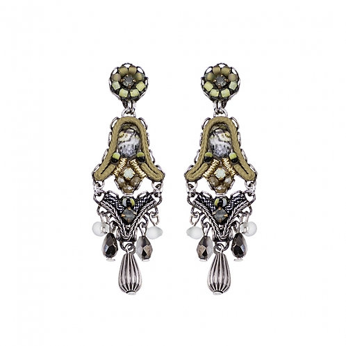 Classic Earrings C1433 - Autumn Leaves by Ayala Bar