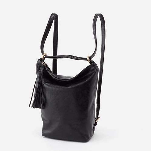 Blaze Convertible Backpack in Black by HOBO