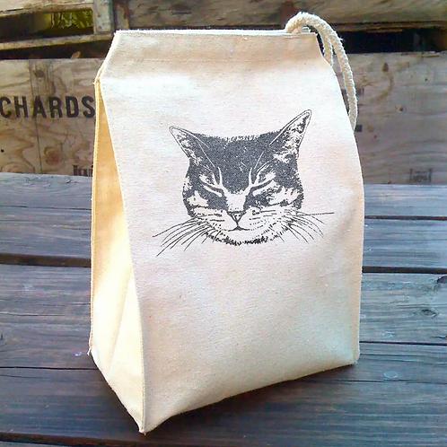 Cat Lunch Bag by Little Lark