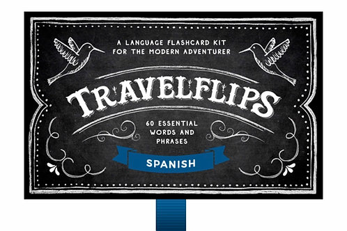 Travelflips: A Language Flashcard Kit for the Modern Adventurer