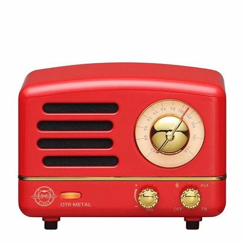 Muzen OTR Metal Radio - Crimson Red