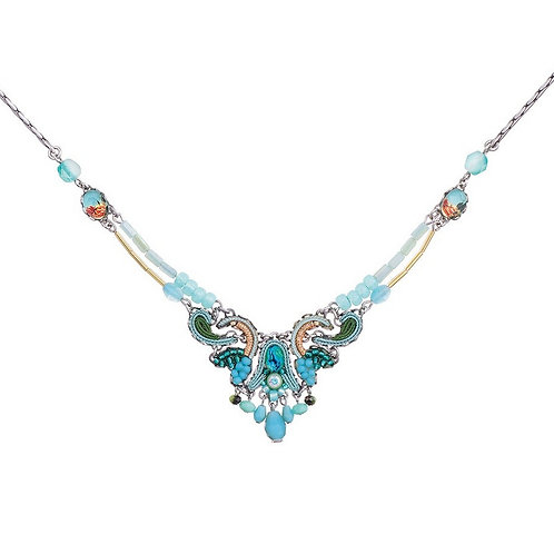 Clear Water Branven Necklace by Ayala Bar C3145
