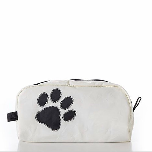 Paw Print Toiletry Bag by Sea Bags Maine