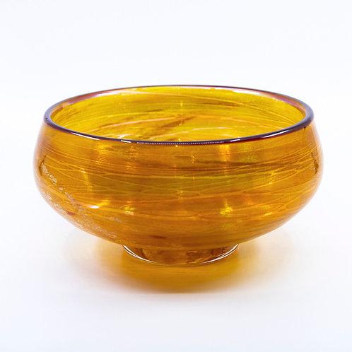 Gold Luster Bowl by Tom Stoenner