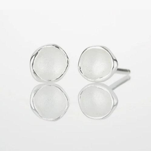 Small Single Pod Earrings by Sarah Richardson