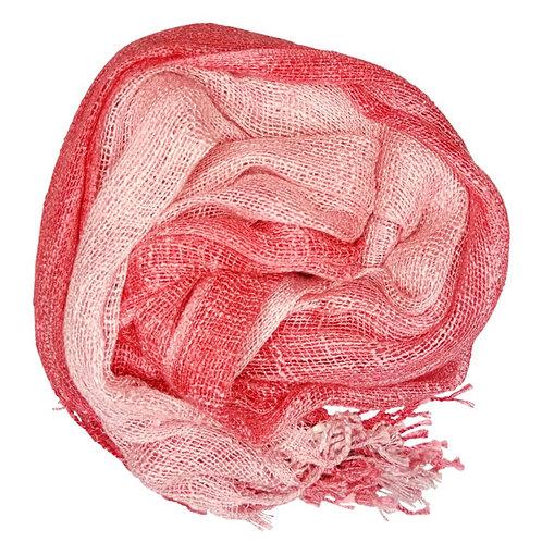 Garnet Wabi Silk Scarf by Rubyzaar