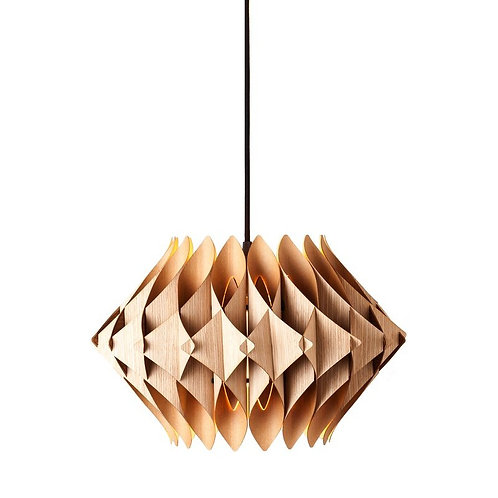Scalar Series Oak Swag Pendant Lamp by Five Ply