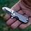Thumbnail: Titanium Micro Blade And Sheath Pocket Knife Combo by WESN