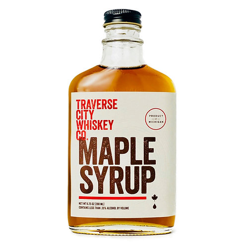 Barrel Aged Maple Syrup by Traverse City Whiskey Co.