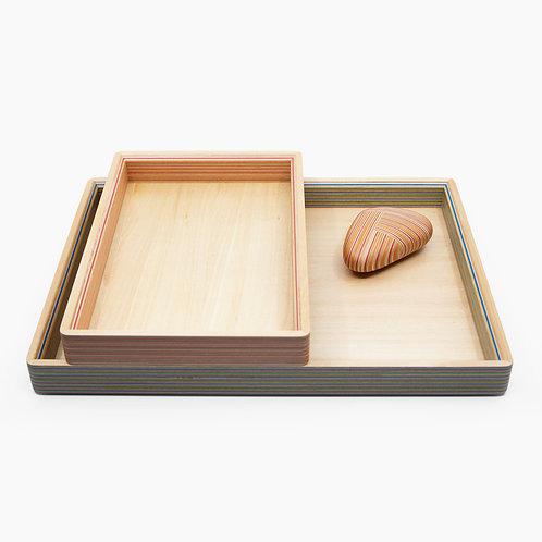 Desk Tray Set by Takizawa Plywood Labratory