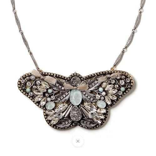 Butterfly Statement Necklace by Elements Jill Schwartz