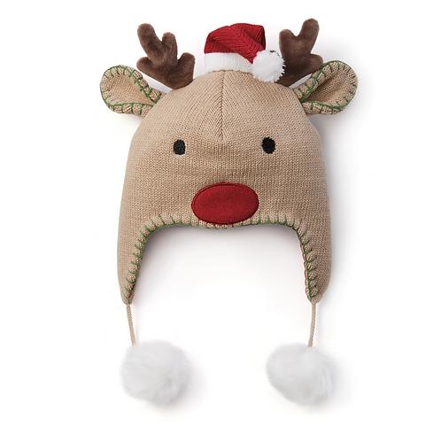 Reindeer Aviator Hat by Elegant Baby
