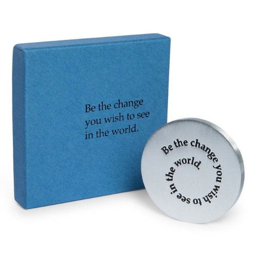Be The Change Paperweight by Danforth