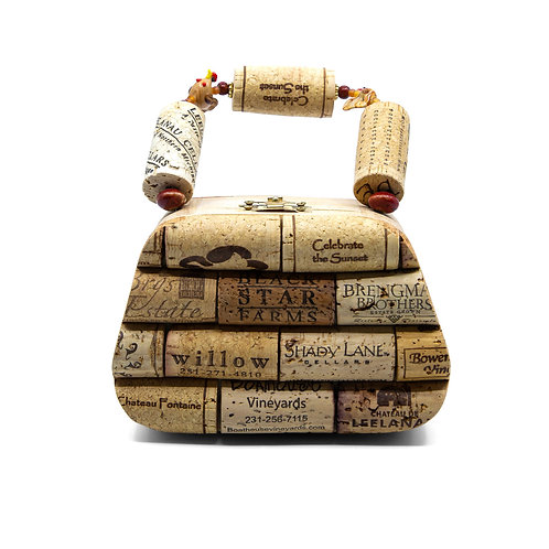 Small Cork Purse by Jean Ackerman