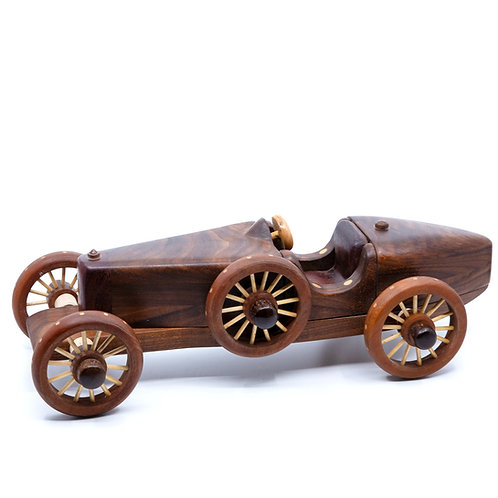 Bugatti Racer Wood Car by Baldwin Toys