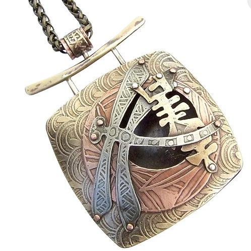 Akitshushima Drogonfly Pendant by Lesley McKeown