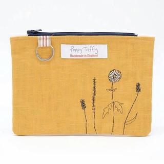 Embroidered Bag by Poppy Treffrey