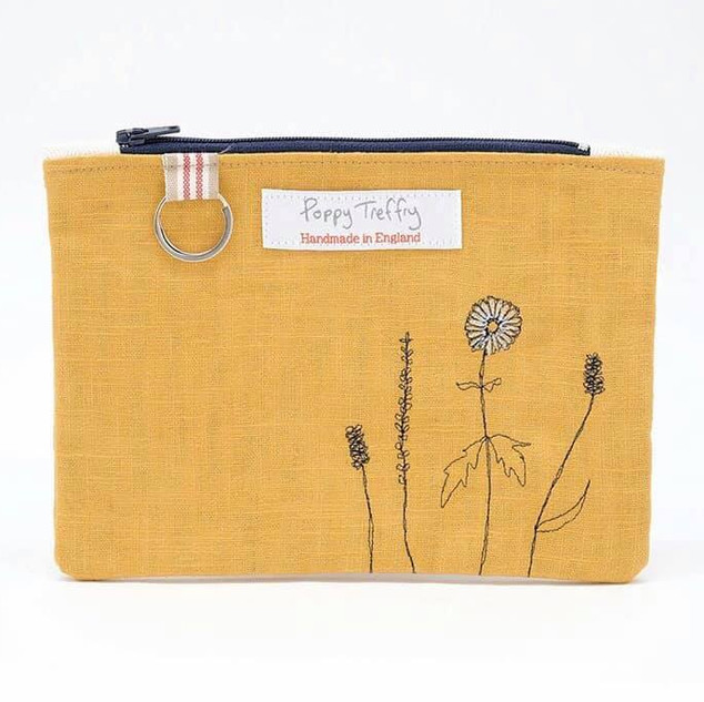 Embroidered Bag by Poppy Treffrey