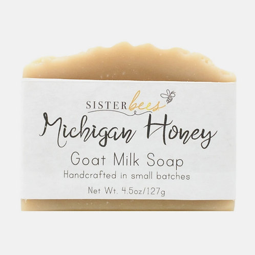 Michigan Honey Handmade Soap by Sister Bees