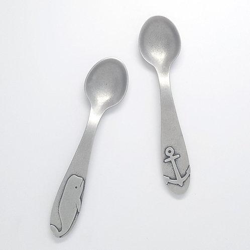 Nautical Baby Spoons by Beehive Handmade