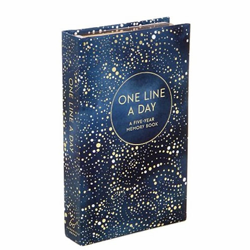 One Line a Day (Celestial): A Five Year Memory Journal